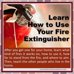 InTouch Fire Extinguisher